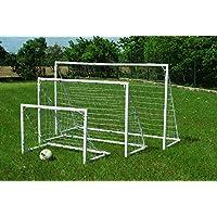POWERSHOT Mini Porta da Calcio Fun con opzioni (1,2 x 0,8 m)