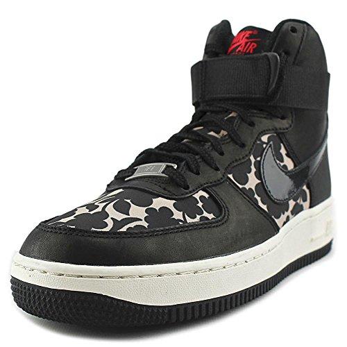 Nike Wmns Air Force 1HI Lib QS, Chaussures de Sport Femme, Taille Rose - Rosa (Vachetta Tan / Black)