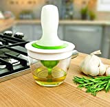 TOUA Chef's Basting Set Oil Dispenser Glass Bowl Container and Silicone Pastry Brush