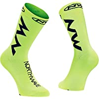 NORTHWAVE Set 3 Calcetines ciclismo hombre EXTREME AIR amarillo fluo/negro