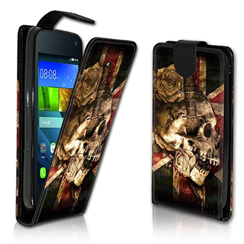 Vertical Flip Style Housse Case Étui Coque Motif cartes étui support pour Apple iPhone 5/5S – Variante ver38 Design 1