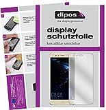 dipos I 2X Schutzfolie klar passend für Huawei P10 Lite Folie Displayschutzfolie