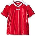 JAKO Kinder Fußballtrikots Copa KA, Rot/Weiß, 128, 56256