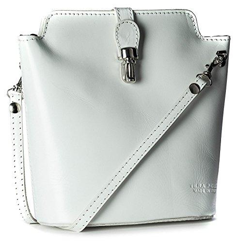 Big Handbag Shop, Borsa a tracolla donna One Bianco (bianco)