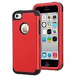 Dailylux Coque iPhone 5c,5C Coque Housse de Protection Anti-Choc Matériaux Hybrides...