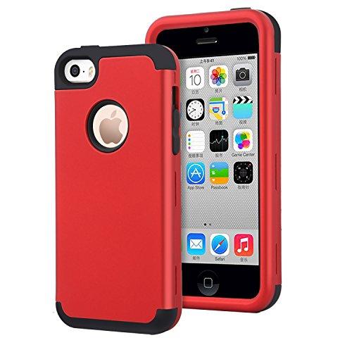 14c6625d54a Dailylux iPhone 5C Funda,Carcasa iPhone 5c Funda iPhone 5c Híbrido de Alto.