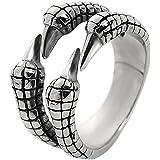 Anillo de garra de águila anillo personalizado para los hombres anillo único