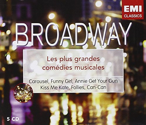 Follies, Kiss Me Kate, Carousel, Funny Girl, Annie by Les Grandes Comedies Musicales De Broadway (2008-01-13) -