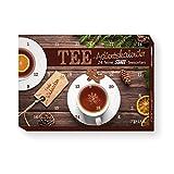 itenga Tee Adventskalender gefüllt mit 24 köstlichen Tee Spezialitäten - Motiv Modern Weihnachtlich