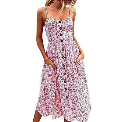 Mode Kleider Damen, ZIYOU Frauen Strandkleid Sommer / Beiläufig Kleid Ärmellos Abendkleid / Lange Partykleid Cocktailkleid Elegant Festkleid