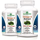 [Sponsored]Nutriherbs Omega 3 Extract ( Dha Rich Algae ) 800 Mg 60 Capsules (Pack Of 2)