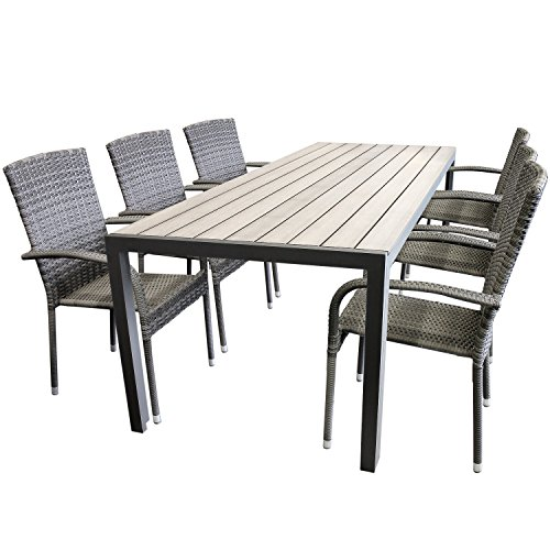 elegante-7tlg-gartengarnitur-aluminium-polywood-non-wood-205x90cm-gartentisch-sitzgruppe-rattan-gart