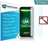 Slabo 3 x Premium Panzerglasfolie für Motorola Moto G7 Power Panzerfolie Schutzfolie Echtglas Folie Tempered Glass KLAR 9H Hartglas