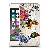Head Case Designs Ufficiale Mark Ashkenazi Mappa del Mondo Cultura Pop Cover in Morbido Gel Compatibile con iPhone 6 / iPhone 6s