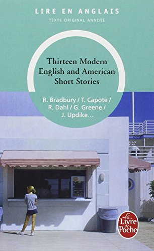 Thirteen modern English and American short stories par Ray Bradbury