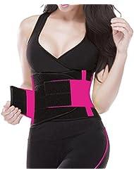 TWINSFLAME Ceintures de sudation femme serre taille corset sculptant pour une taille de sablier ,S-XL