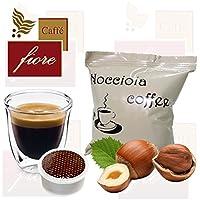 Cialde Capsule CAFFE FIORE Aromatizzate NOCCIOLA Compatibili LAVAZZA Espresso Point - Confezione da 50 Capsule - Lavazza Espresso Point Capsula Macchina