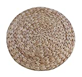 2-er Set natürliche runde Rattan Tischsets Isolierung-Auflage, 30CM
