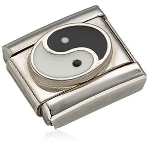 Nomination Damen-Charm Composable Ying Yang Edelstahl Emaille – 330202/14