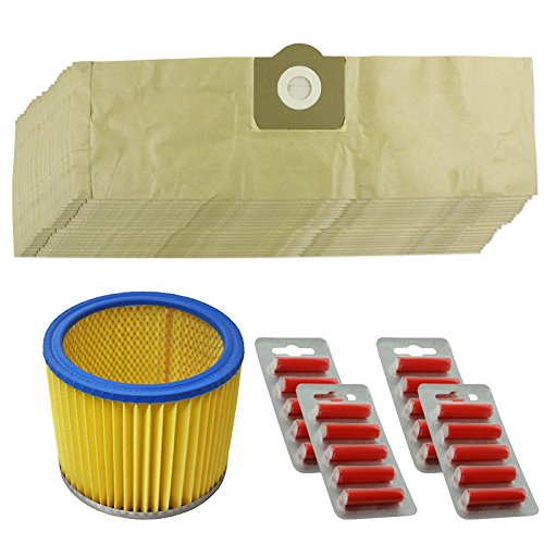 spares2go-filter-dust-bags-kit-for-parkside-lidl-pnts-1300-1400-1500-vacuum-cleaner-pack-of-20
