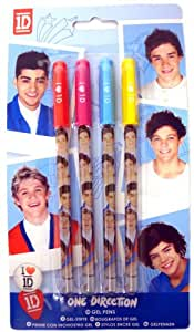 One Direction - Gel-Pen Set Band Buttons (in Onesize)