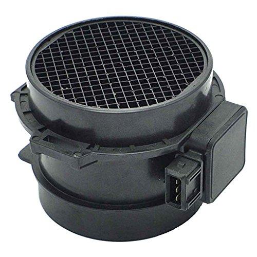 Floridivy Plastique Débit d'air Capteur 5WK96132 Voiture Compteur de débit d'air de Remplacement Accessoire pour BMW 330 530 X5 E39 E46 E53 01-06