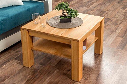 Preisvergleich Produktbild Couchtisch Wooden Nature 122 Buche massiv - 45 x 65 x 65 cm (H x B x T)