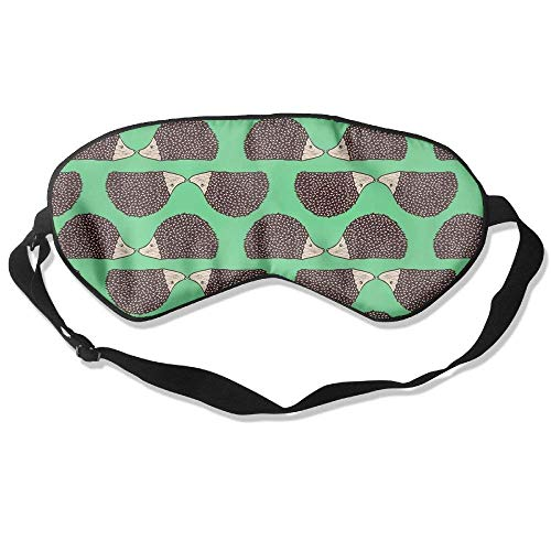 Mulberry Kiss (Hedgehog Kiss Funny Pattern Sleep Eyes Masks - Comfortable Sleeping Mask Eye Cover For Travelling Night Noon Nap Mediation Yoga)