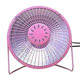 Tianya Mini Heizlüfter Heizung Tragbare Elektrische Hauptluftheizung warmes Ventilator-Halogenrohr Handliche Desktop Instant Heater für Schlafzimmer Büro Heater (Rosa)