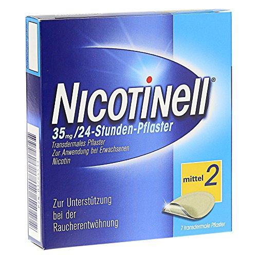 NICOTINELL 35 mg 24 Stunden 7 St Pflaster transdermal