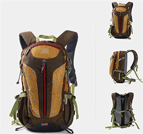 sport all'aria aperta borsa zaino alpinismo tracolla bag uomini e le donne del sacchetto di corsa a piedi ( Colore : Grigio , dimensioni : 30L ) Army Green