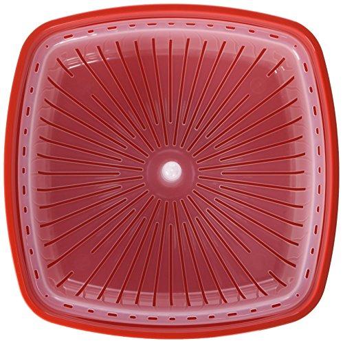 Sistema Behälter für Dampfkochen in Mikrowelle, Mittel, 2,4L - 3