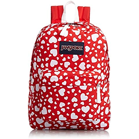 JANSPORT T501 Superbreak Backpack - Red Heart to
