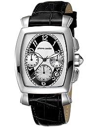 Pierre Cardin Herren-Armbanduhr Tonneau Homme Troisième Chrono PC100221F09