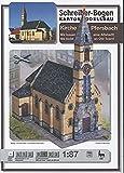 Aue-Verlag - Kit de modelo de iglesia de Pfersbach (25x 13x 26cm)