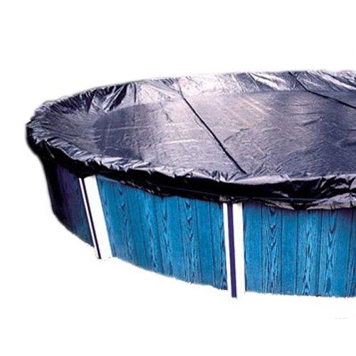 Gli Aquacover Classic Rund Solid Winter Cover System für über Boden Pools 33-Feet (Pool Winter Cover Gli)