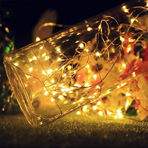 Für Party Event, Hochzeit Dekoration, Geburtstag Deko Verlobung Graduierung Brautgeschenke,Daygeve 1M x10LED Solar Cork Weinflaschenstopper Wire String Lights Fairy Lampen (Kostüme Stars 2019 Halloween)