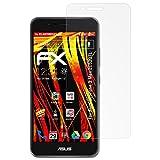 atFolix Schutzfolie kompatibel mit Asus ZenFone 3 Max ZC520TL Bildschirmschutzfolie, HD-Entspiegelung FX Folie (3X)