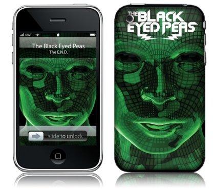 MusicSkins Black Eyed Peas The End selbstklebende Schutzhülle für Apple iPhone 2G/3G/3GS