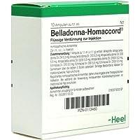BELLADONNA HOMACCORD Ampullen 10St preisvergleich bei billige-tabletten.eu