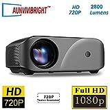 AUN VIVIBRIGHT C80 Mini HD Projector Supports 1920 * 1080 1080P, 1280x720 2200
