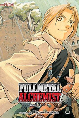 FULLMETAL ALCHEMIST 3IN1 TP VOL 04 (C: 1-0-2): 10-11-12 (Fullmetal Alchemist (3-in-1 Edition)) por Hiromu Arakawa