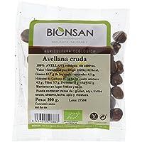 Bionsan Avellana Cruda de Cultivo Ecológico - 3 Paquetes de 100 gr - Total: 300 gr