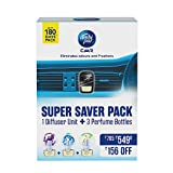 #1: Ambi Pur Car Freshener Super Saver Pack - 23 g (Lavender Aqua and Jasmine)