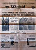 EQUIPE (L') [No 6838] du 23/03/1968 - AJACCIO - FAMEUX ECUEIL POUR SAINT-ETIENNE - GALLES ET FRANCE / UNE QUADRUPLE VICTOIRE ATTENDUE DEPUIS PRES DE 60 ANS - MASO AU CENTRE ET SPANGHERO AVANT AILE - ANQUETIL ET POULIDOR FACE AUX JEUNES ET A L'OPINION - GROSSKOST - AIMAR - GUYOT FRERES - SAMYN - PINGEON - LETORT ET FRANCIS DUCREUX - HAND - BASKET - SKI