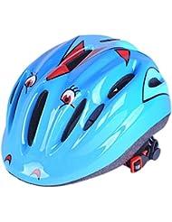 Foxom enfants Vélo casques de sécurité–Vélo, Cycle, scooter, casques de patins ou pour garçons ou filles–Un casque Idéal pour 2–15ans enfants