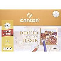 Canson 406331 - Láminas de dibujo, 10 hojas