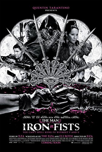 The Man with the Iron Fists (24x36 inch / 60x89 cm) Silk Print Poster Seide Plakat - Silk Printing - 232428