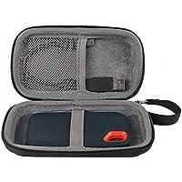 co2CREA Duro Viajar Caja Estuche Funda para SanDisk Extreme SSD portátil 250 GB/500 GB/1 TB/2 TB(Caja Solo)(Estuche Negro)