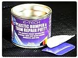 E-Tech stucco per auto, per riparazione di paraurti e finiture interne in plastica, barattolo da250g